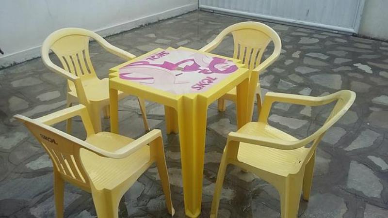 cadeira mesa pead